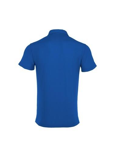 Macron Tişört Mavi